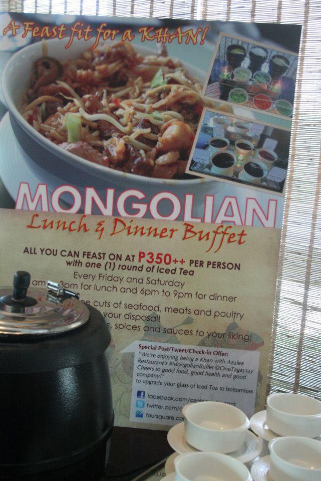 mongolian buffett