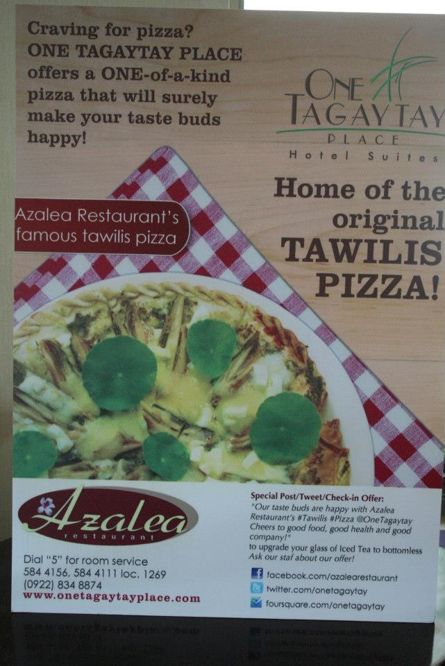 tawilis pizza