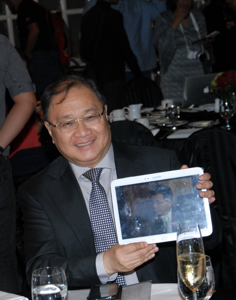 Chairman of SMART and PLDT, Mr. Manny V. Pangilinan