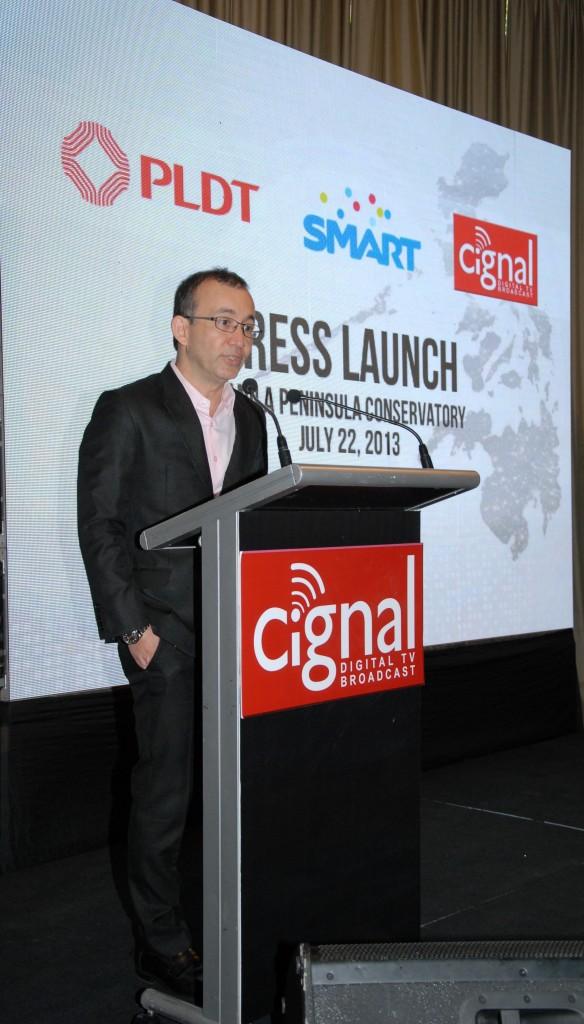MediaQuest President and CEO, Mr. Noel Lorenzana