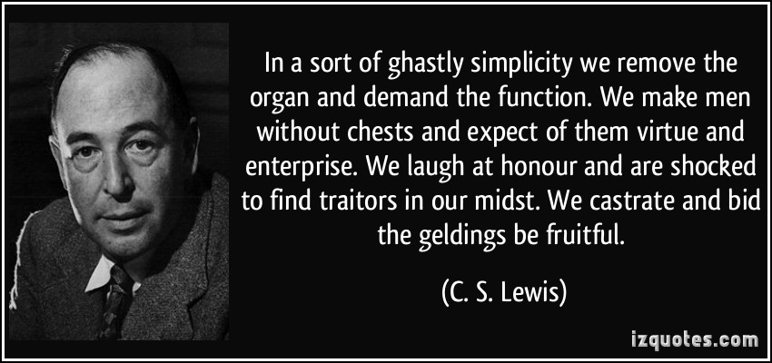 quote-in-a-sort-of-ghastly-simplicity-we-remove-the-organ-and-demand-the-function-we-make-men-without-c-s-lewis-247103
