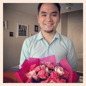 Am I my wife's ideal man? (photo taken Valentine's of 2013)
